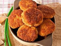 Печени картофени кюфтета със сирене моцарела и пармезан на фурна - снимка на рецептата